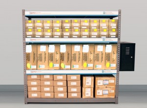SupplySentry RFID Storage Rack
