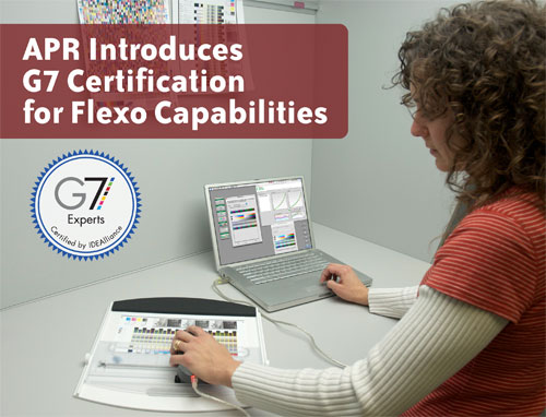 G7 Certification for Flexo Capabilities - All Printing Resources