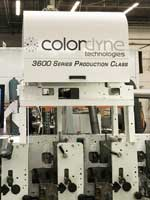 Colordyne 3600 Series Retrofit on a Mark Andy press