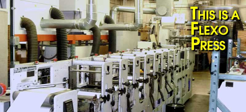 This is a Flexo Press