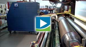 Sanilox™ In Press Roll Cleaning Video